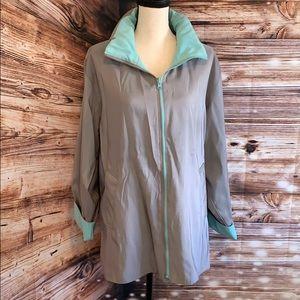 Mycra PAC Reversible Hooded Rain/Wind Jacket